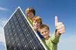 Leinwandbild Motiv Solarenergie