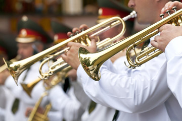 Marching Band Trumpets