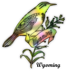 wyoming state bird