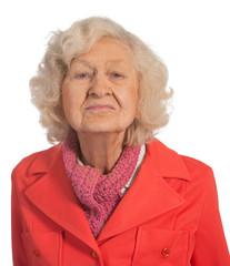 Portrait Elderly Senior Lady