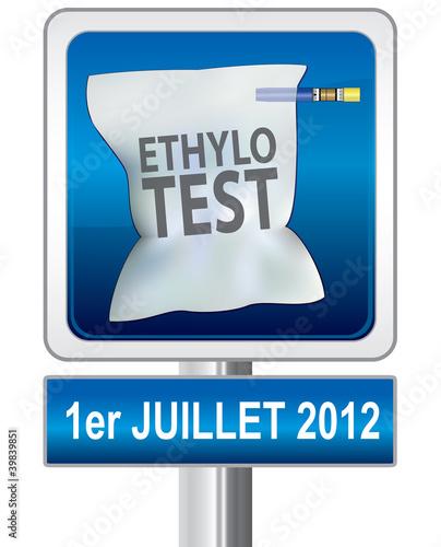 éthylotest obligatoire au premier juillet 2012