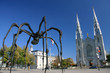 Maman by Louise Bourgeois and the Notre Dame Cathedral Basilica
