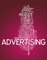 "Word Cloud ""Advertising"""