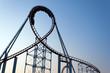 Leinwandbild Motiv Roller Coaster
