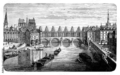 Ancient Paris - 17th century