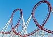 canvas print picture - Roller Coaster