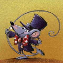 ratón circo