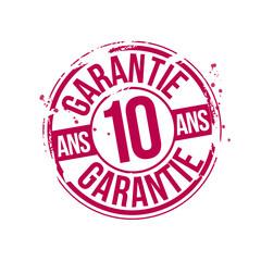 timbre garantie 10 ans