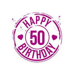 timbre anniversaire 50 ans