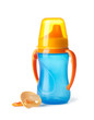 Baby: bottle and pacifier