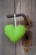 Ein grünes Herzerl