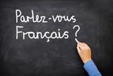 Fototapety French Learning language