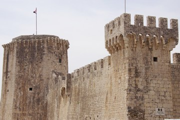 The castle of Trogir in Croatia