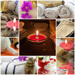 assemblage photos zen massage