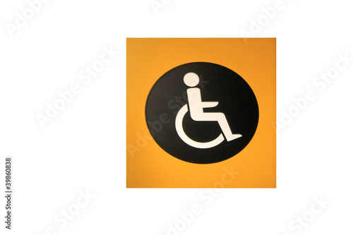 hinweisschild schwerbehindert