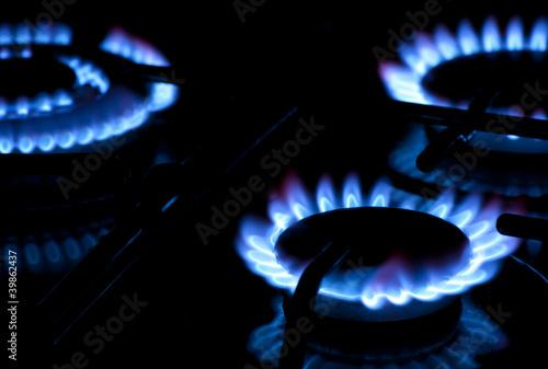 Burning gas - 39862437