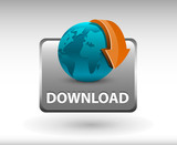 Download Button, Download icon and button