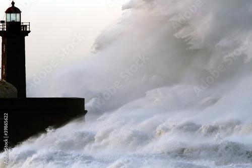 Huge Stormy Wave © Zacarias da Mata