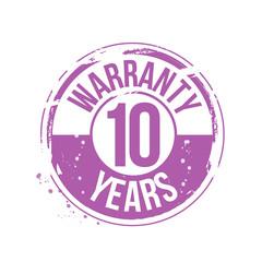 timbre 10 ans de garantie