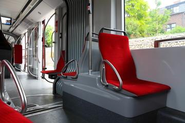 Stadtbahn - Fahrgastraum