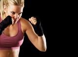 Fototapeta mięśni - gotowy - Poza Pracą / Sporty