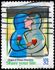 USA - CIRCA 1998 Organ & Tissue Donation