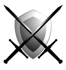 Espadas y escudo
