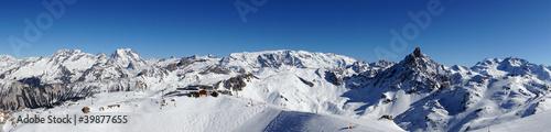 Papiers peints Alpes Domaine Les Trois Vallées dans les Alpes