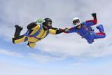 Fototapeta odwaga - niebezpieczeństwo - Sporty Powietrzne