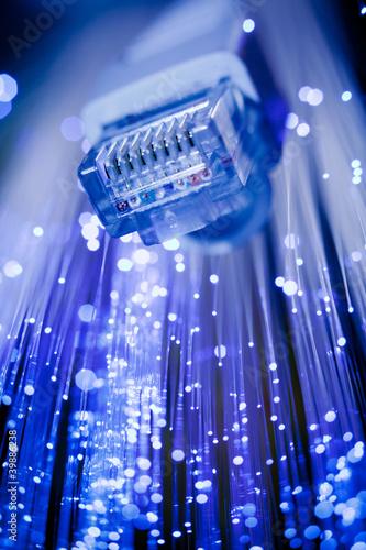 Rj45 con fibra ottica