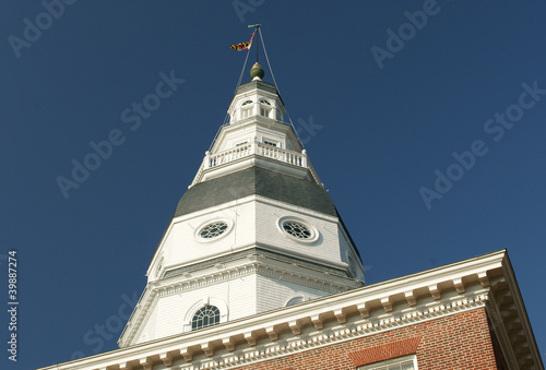 Maryland State Capitol in Annapolis