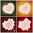 Holidays Text Vector  Set
