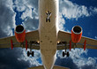 Fototapete Jet - Himmel - Flugzeug