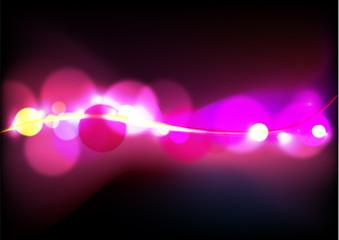 Sfondo effetto luci astratto