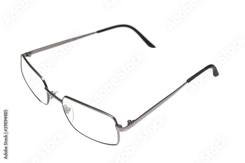 Glasses isolated on white background.