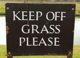 Keep of Grass please