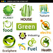 eco natural  icons