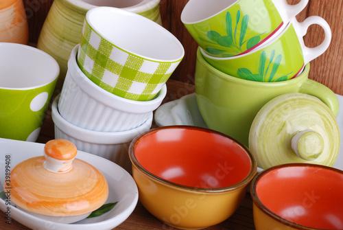 utensili da cucina in ceramica - cinque
