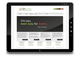 Webdesign, Tablet-PC, Präsentation, Website, Homepage, LTE