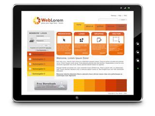 Webdesign, Tablet-PC, Tutorial, Website, Homepage, Design, SEM
