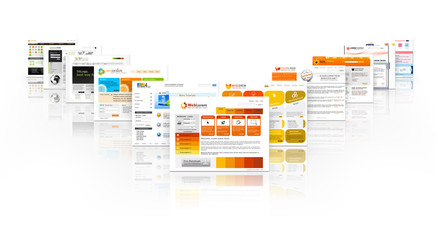 Webdesign, Website, Homepage, Design, Template, Werbung, SEO