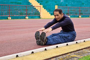 跑步前的熱身運動