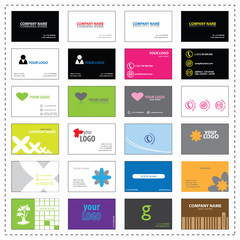 24 business cards