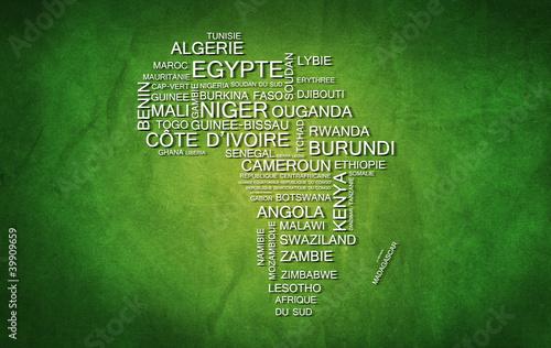 Afrique (Vert)