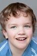 Portrait of smiling  merry boy