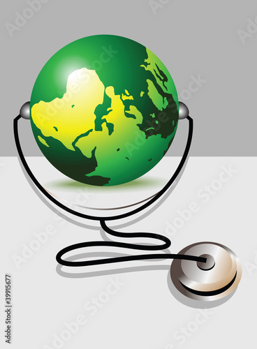Stethoscope and glob