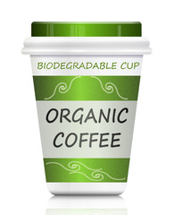 Environmentally friendly coffee.