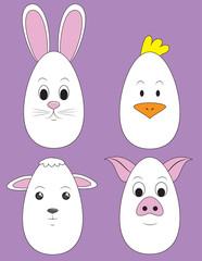 Easter Animal Eggs