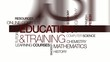 Education training learning courses teaching animation
