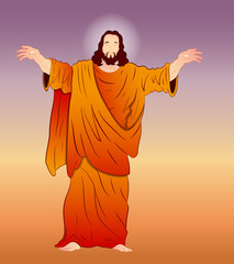 Vector Art of Jesus Christ